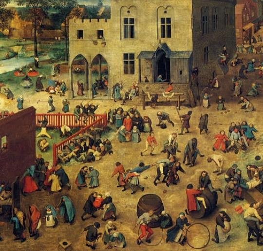 Pintura de Pieter Brughel (1560)